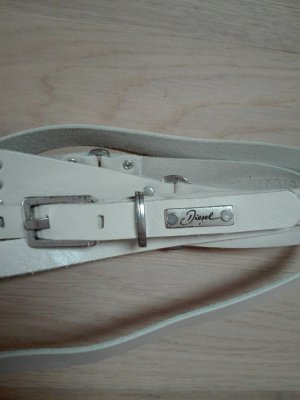 Diesel Waist Belt natural white
