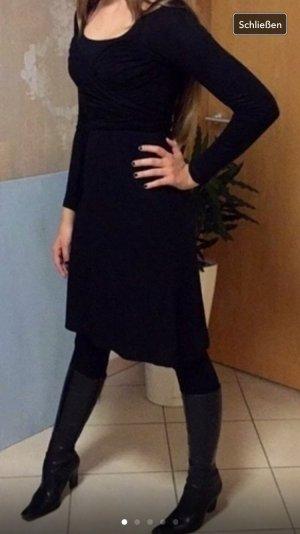 Wickel-Kleid, mng suit, GR S, Jersey,schwarz