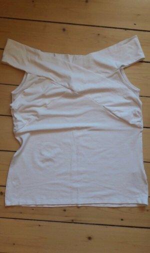 Asos Maglietta aderente bianco