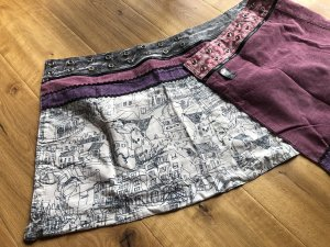 Zand Amsterdam Wraparound Skirt multicolored