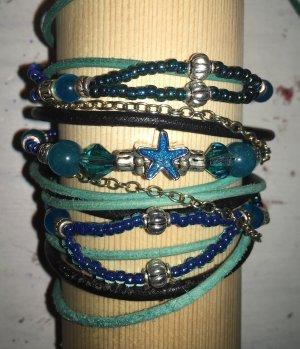Braccialetto sottile blu