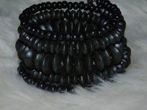 """Wickelarmband schwarz """"beautiful Black"""" Sisqiu.de NEU NEU NEU"""