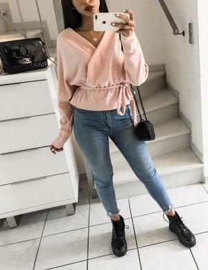 Wraparound Blouse pink