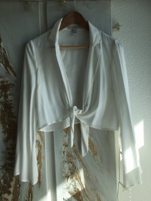 Forever 21 Wikkelblouse wolwit-wit