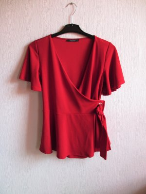 Mohito Blouse portefeuille rouge
