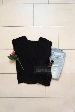 Wickelbluse ohne Arm