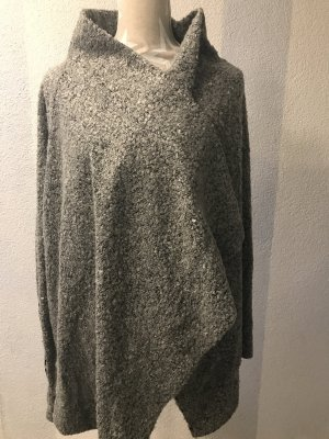 Ambiente Knitted Cardigan dark grey wool