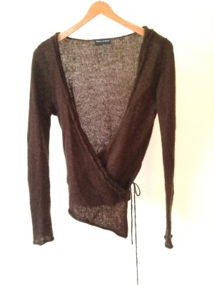 Marc O'Polo Knitted Wrap Cardigan khaki-dark green