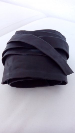Comma Cintura di pelle marrone scuro