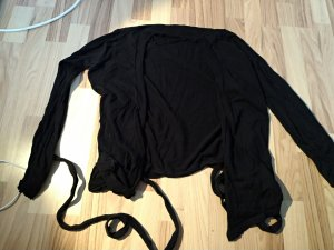 HM Veste cache-coeur noir