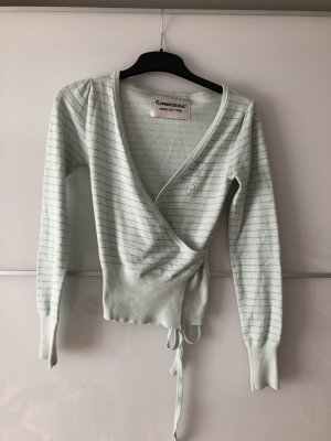 Freesoul Knitted Wrap Cardigan multicolored cotton
