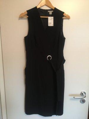 H&M Robe portefeuille noir