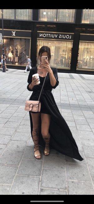 Sabo Skirt Robe portefeuille noir