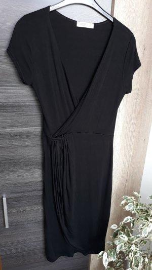 Vestido cruzado negro