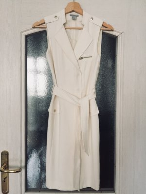 H&M Robe portefeuille blanc-blanc cassé
