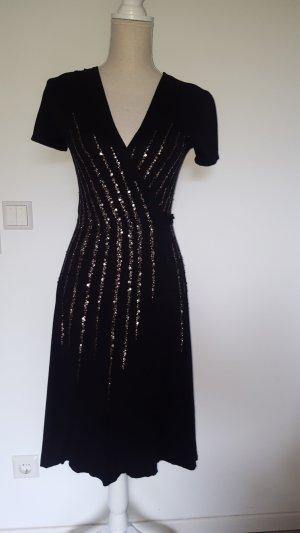 Phase eight Vestido cruzado negro