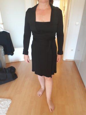 Drykorn Vestido cruzado negro