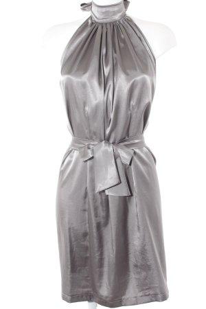 Robe portefeuille gris élégant