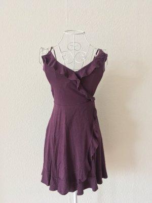 Hollister Flounce Dress multicolored viscose