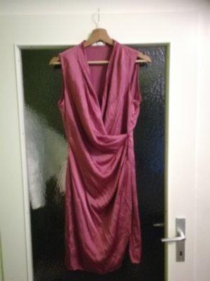 Mango Robe portefeuille violet