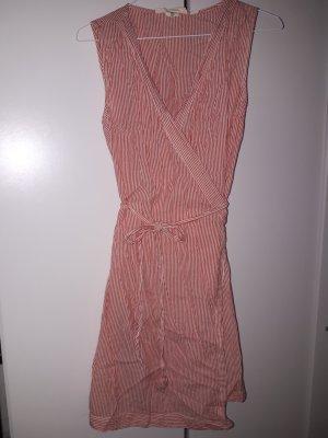 H&M L.O.G.G. Vestido cruzado multicolor