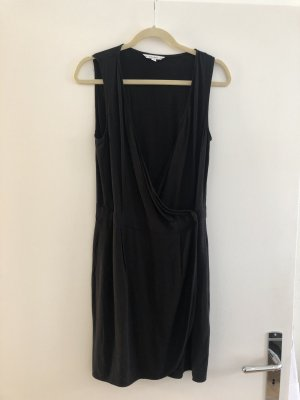Wickelkleid schwarz & other stories S 38 wrap dress