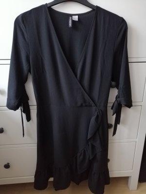 HM Volante jurk zwart