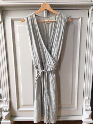 Twist & Tango Robe portefeuille gris vert coton