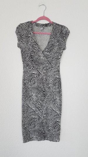 Wickelkleid wickeloptik midikleid elegant und feminin