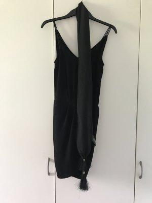 Wickeloptik Kleid mit Gürtel