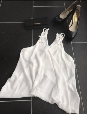 Sheinside Spaghetti Strap Top white