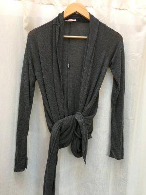 Kontatto Cache-cœur en tricot gris