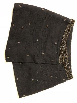 Zara Jupe portefeuille noir