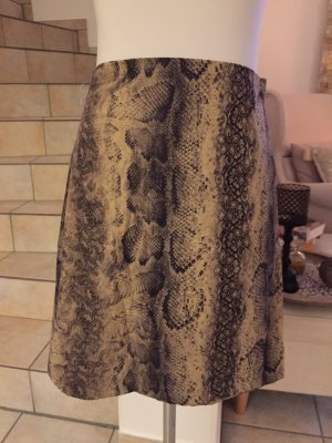 Wraparound Skirt beige-anthracite