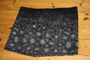 Wickelrock aus Wolle kurz