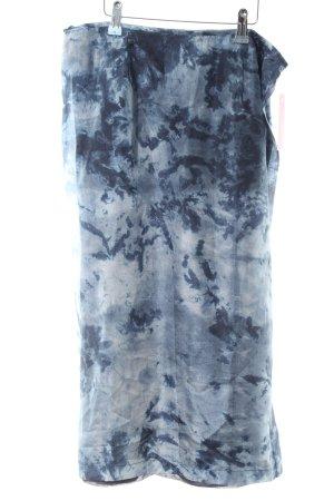 Wraparound Skirt batik pattern casual look