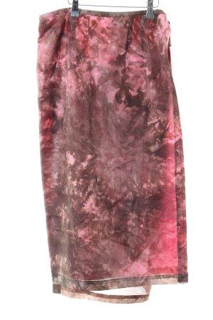Wraparound Skirt batik pattern extravagant style