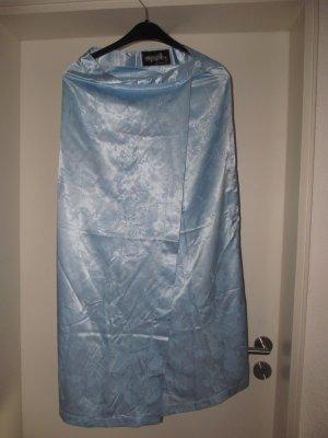 Wickelrock blau Metallic schimmernd Gr. S Mogul