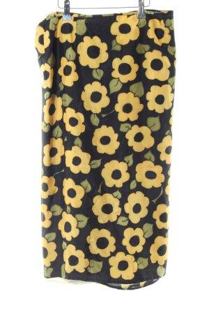 Wraparound Skirt flower pattern beach look