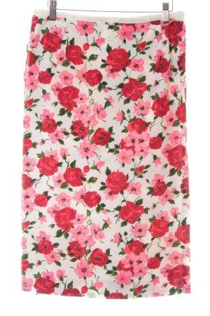 Jupe portefeuille motif de fleur style décontracté
