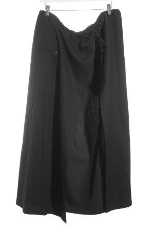 Wickelrock schwarz Casual-Look