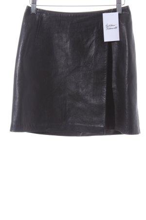Wraparound Skirt black party style