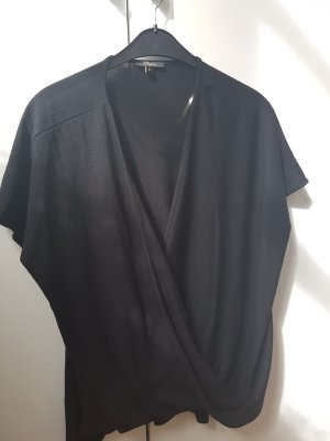 Wraparound Shirt black