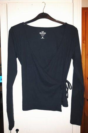 Hollister Wraparound Shirt black