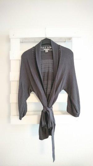 H&M Giacca aderente grigio