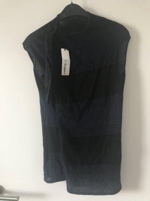 Jil Sander Top negro-azul oscuro