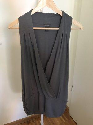 Kenneth Cole Camisa cruzada gris oscuro-gris antracita