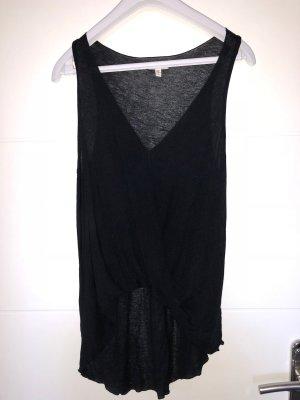Wickeltop schwarz