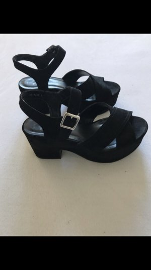 Wide fit Plateau Sandalen