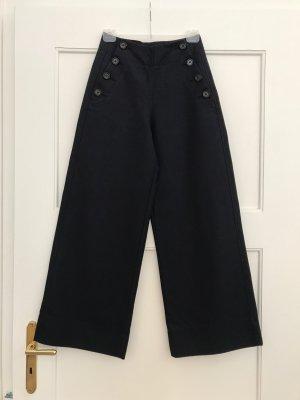 ARKET Pantalone Marlene blu scuro Tessuto misto